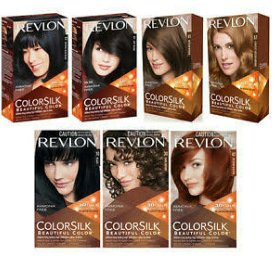 Extensive Assortment Of Revlon Colorsilk Shades Available For
