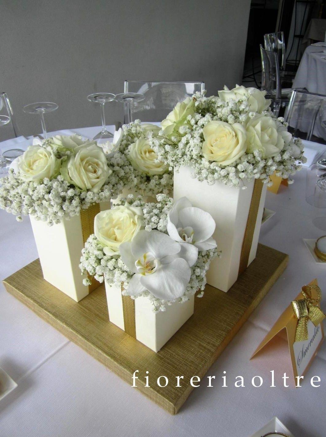 Fioreria Oltre 50th Wedding Anniversary Golden Ann In 2020 50th Wedding Anniversary Decorations Golden Wedding Anniversary Decorations 50th Wedding Anniversary Party
