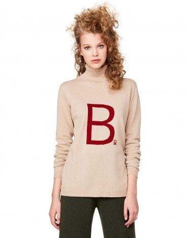 #Benetton #StellaJeanForBenetton #FW16 #collection #trend #fashion #woman #knitwear #beige