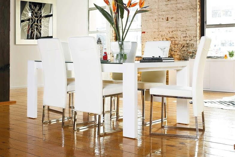 Bosco 7 Piece Dining Suite By Insato Furniture Harvey Norman New
