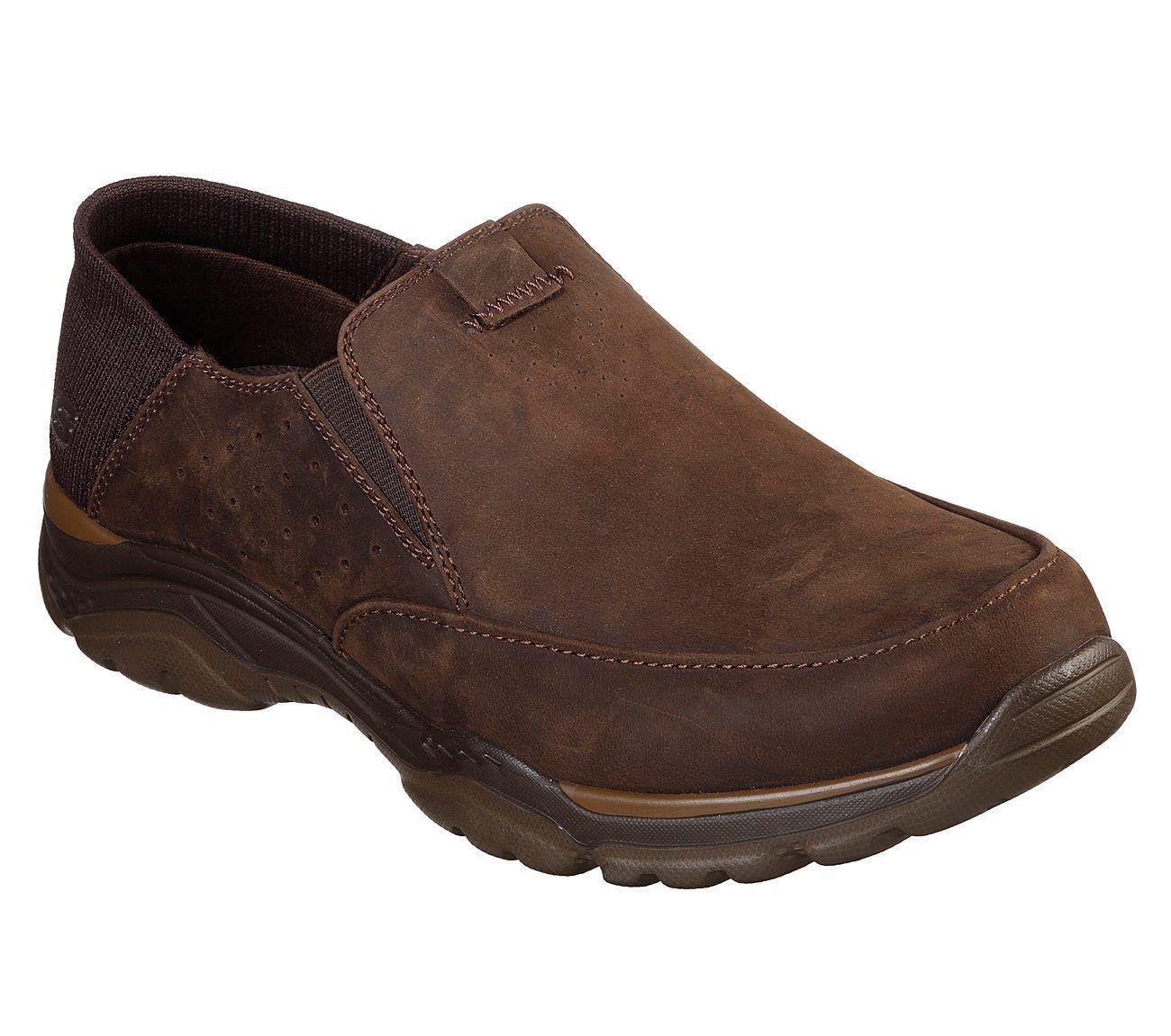 65719 Dark Brown Skechers shoes Men's