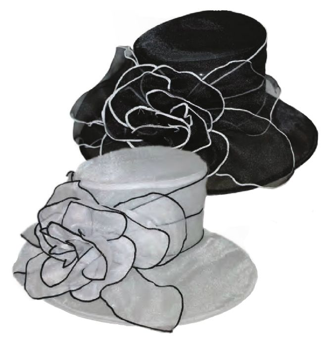 Organza Kentucky Derby Hat