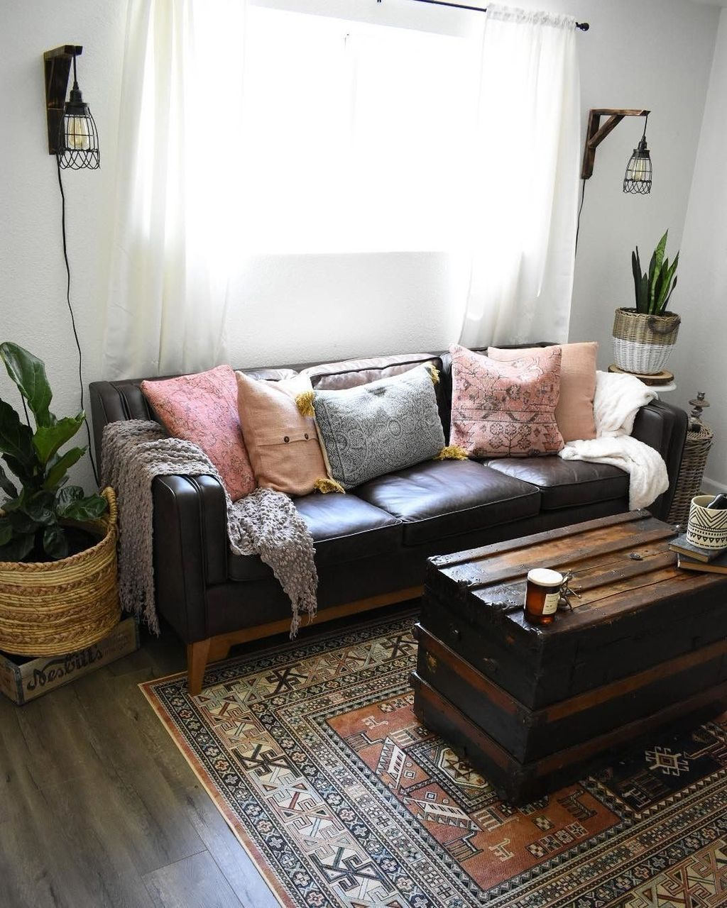 35 Luxury Black Leather Living Room Sofa Ideas For ...
