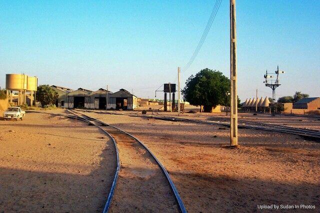 Abu Hamad Railway Station محطة قطار أبو حمد By Ahmed Abudalla Sudan Abuhamad Railway Beautiful Places In The World Beautiful Places Country Roads