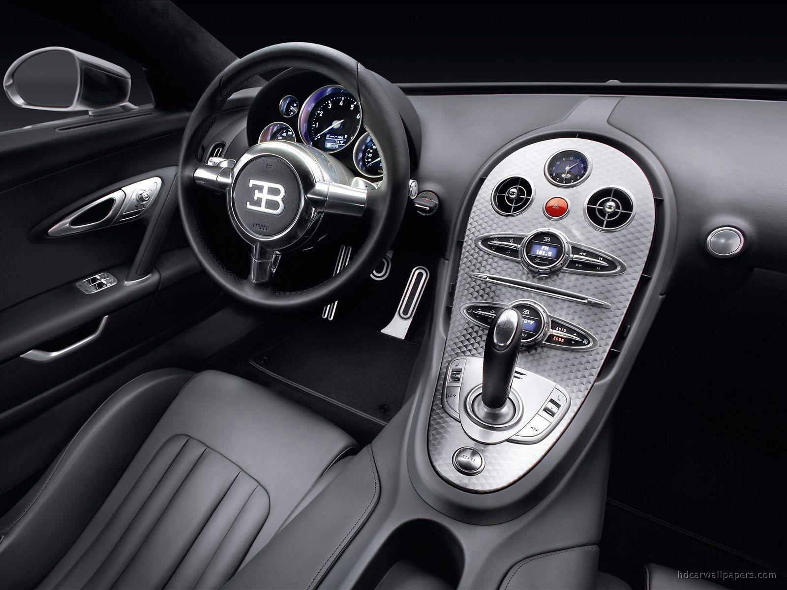 Bugatti Eb Veyron Pur Sang Cockpit Bugatti Veyron Interior