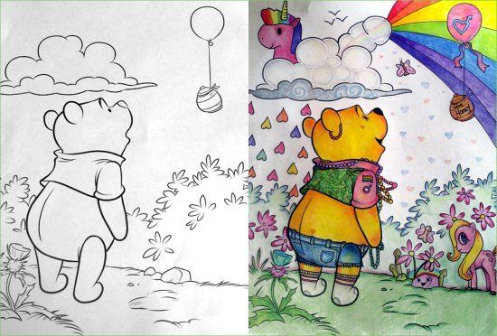 Corrupted Coloring Books Got Dark In A Hurry 32 Photos Funny
