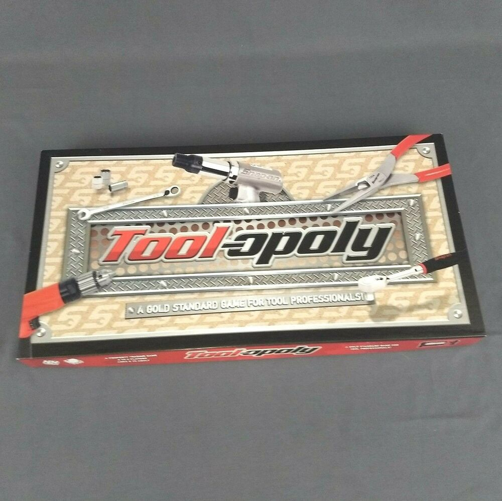 Details about SnapOn ToolOpoly Board Game Complete New