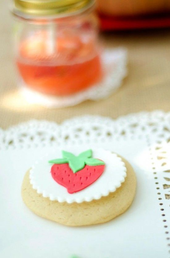 strawberry picnic party