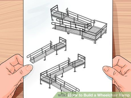 Build A Wheelchair Ramp Wooden Ramp Porch With Ramp