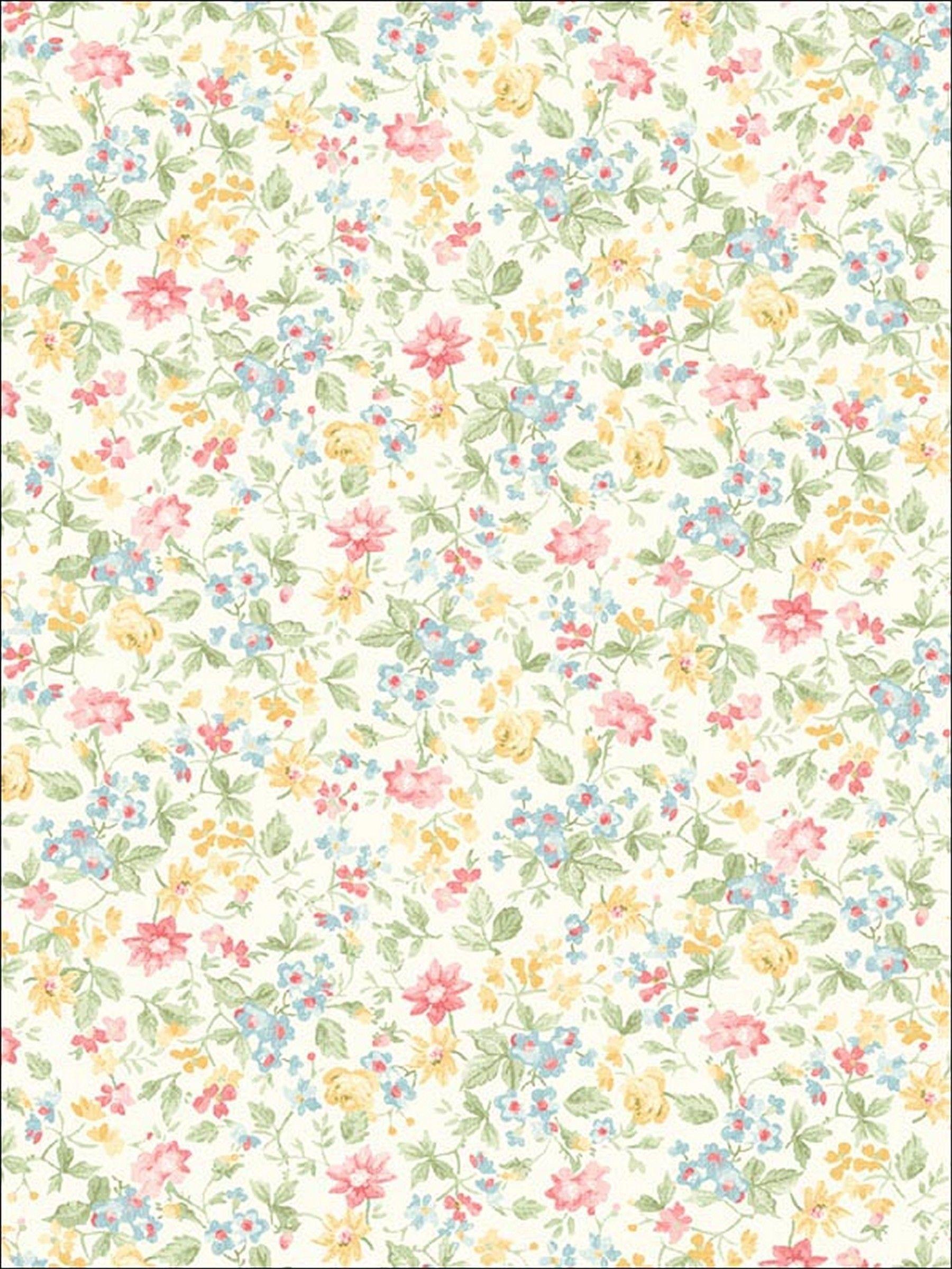 Delicate Floral Wallpaper Pink Floral Wallpaper Floral