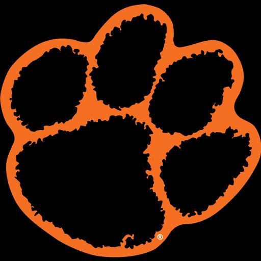 Free Tiger Paw Print Stencil Download Free Clip Art Free Clip Art On Clipart Library Paw Stencil Tiger Paw Print Tiger Paw