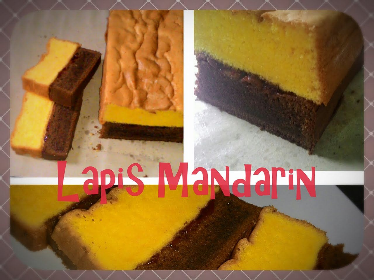 Resep Lapis Mandarin Lapis Surabaya Istimewa Ala Bakery Makanan Kue Resep