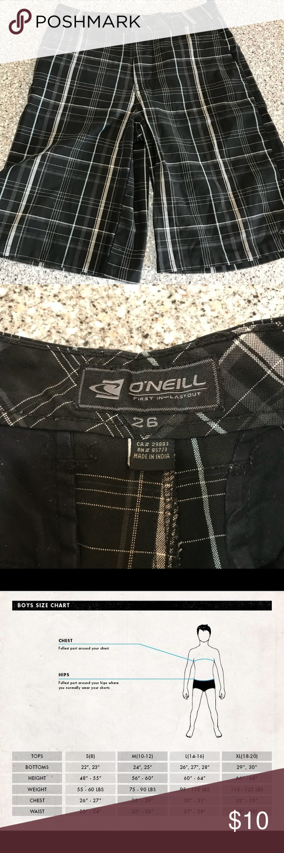 Euc O Neill Shorts 26 Waist Size 10 12 Clothes Design Things To Sell Size 10