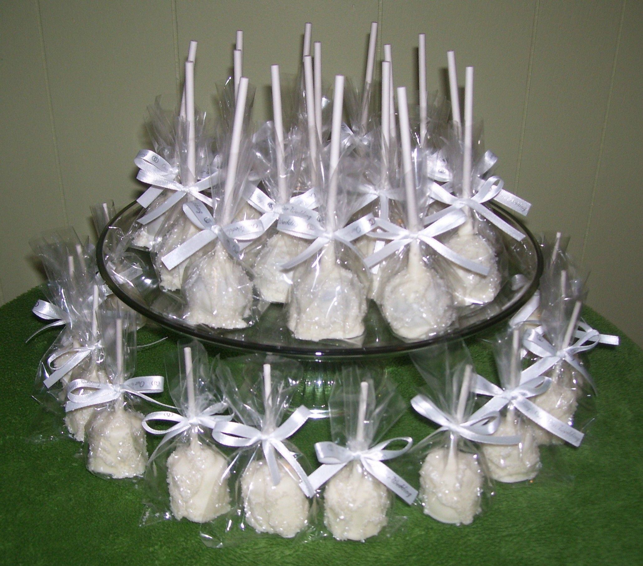 cake pop ideas wedding shower%0A Cake Pops or Truffle Pops Chocolate Covered Cake Pops Wedding Favor Baby  Shower Birthday   dozen