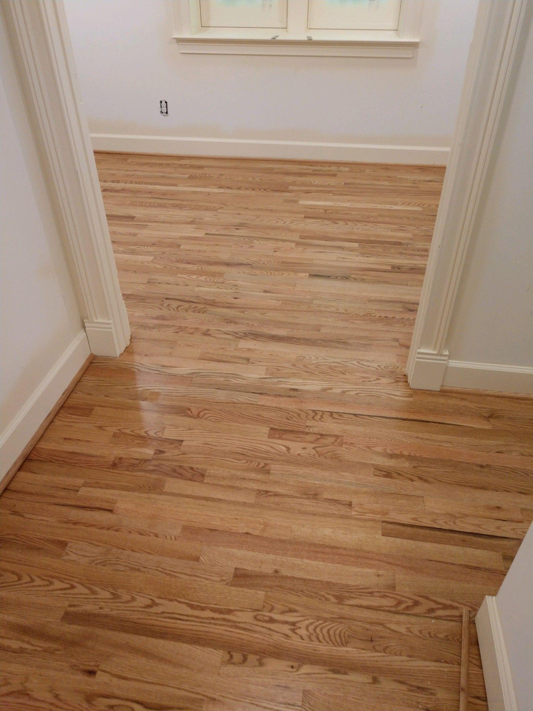 1950s 2 1 4 Red Oak Hardwood Floor Refinished By Smithbrosfloors Com Hardwood Design Hardwood Floors Living Room Wood Floor