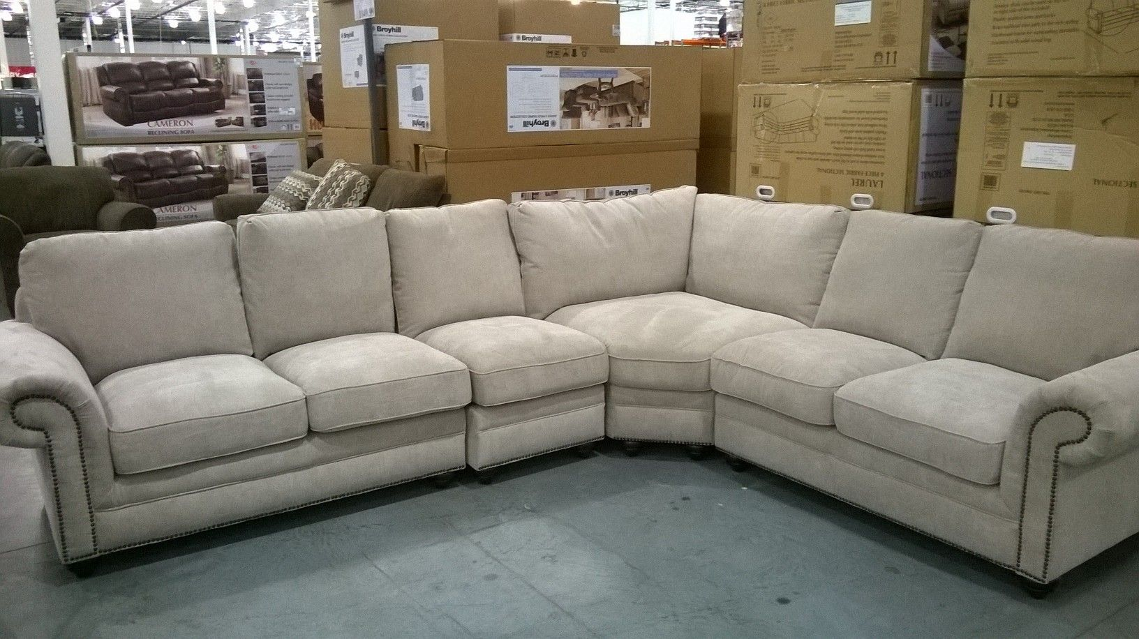 Marks Cohen Laurel Sectional Sofa Home Projects Pinterest