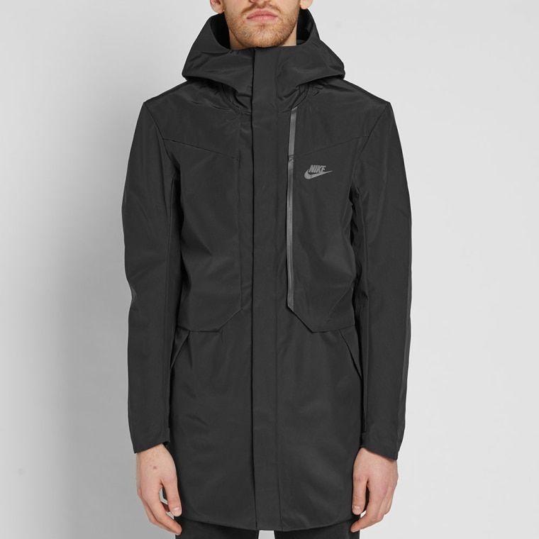 efcfdf31bac6 Nike Tech Fleece Hooded Shield Jacket Black 8