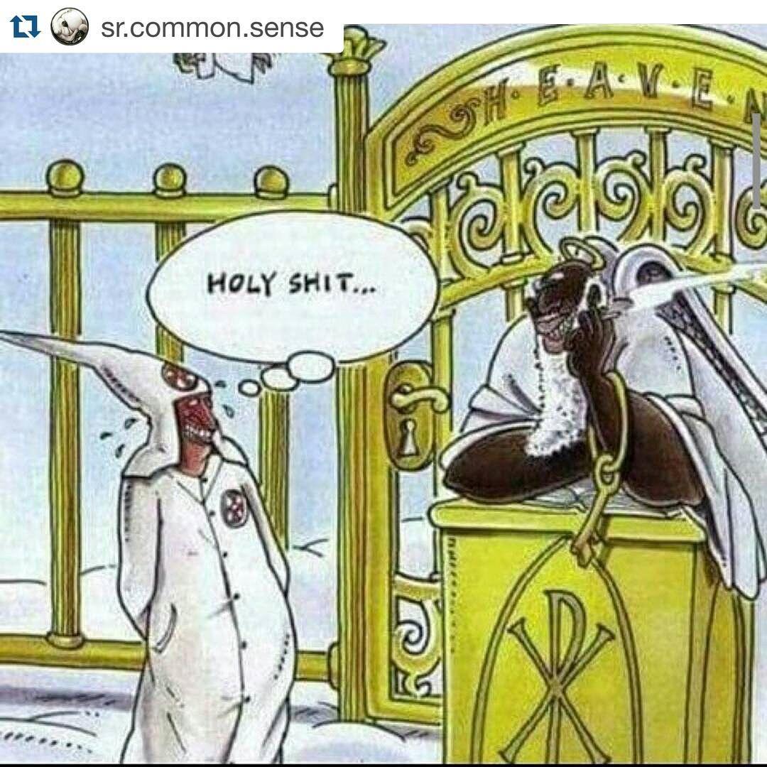 """If heaven was real... #christiansbelike #HolyShit #AwakenTheMasses  #Repost @sr.common.sense with @repostapp. ・・・ I just wanna be the #negus in the…"""