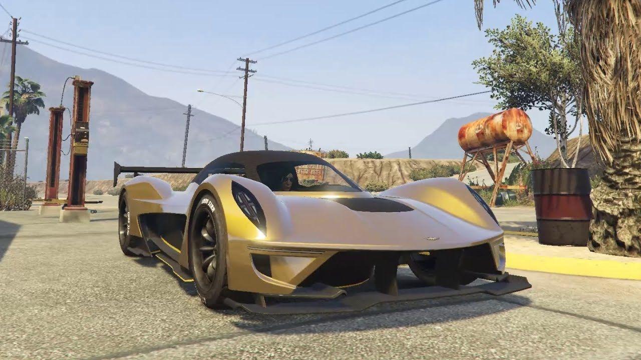 Dewbauchee Vagner Driving Showcase Unreleased Supercar