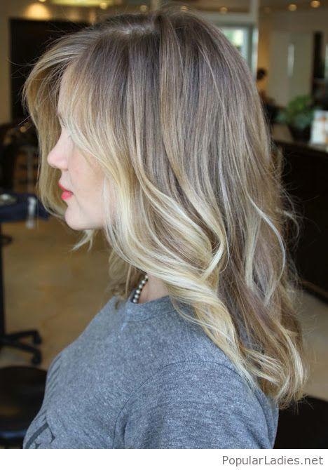 Amazing Dark Brown Hair Color Chart 12 Black Hair Color: Amazing Brown To Blonde Ombre Hair Color With Nice Lip