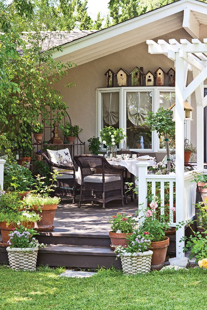 California Cottage Charm | Patio, Cottage style, Outdoor decor