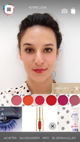 L'Oréal Paris lance l'application Makeup Genius Loreal