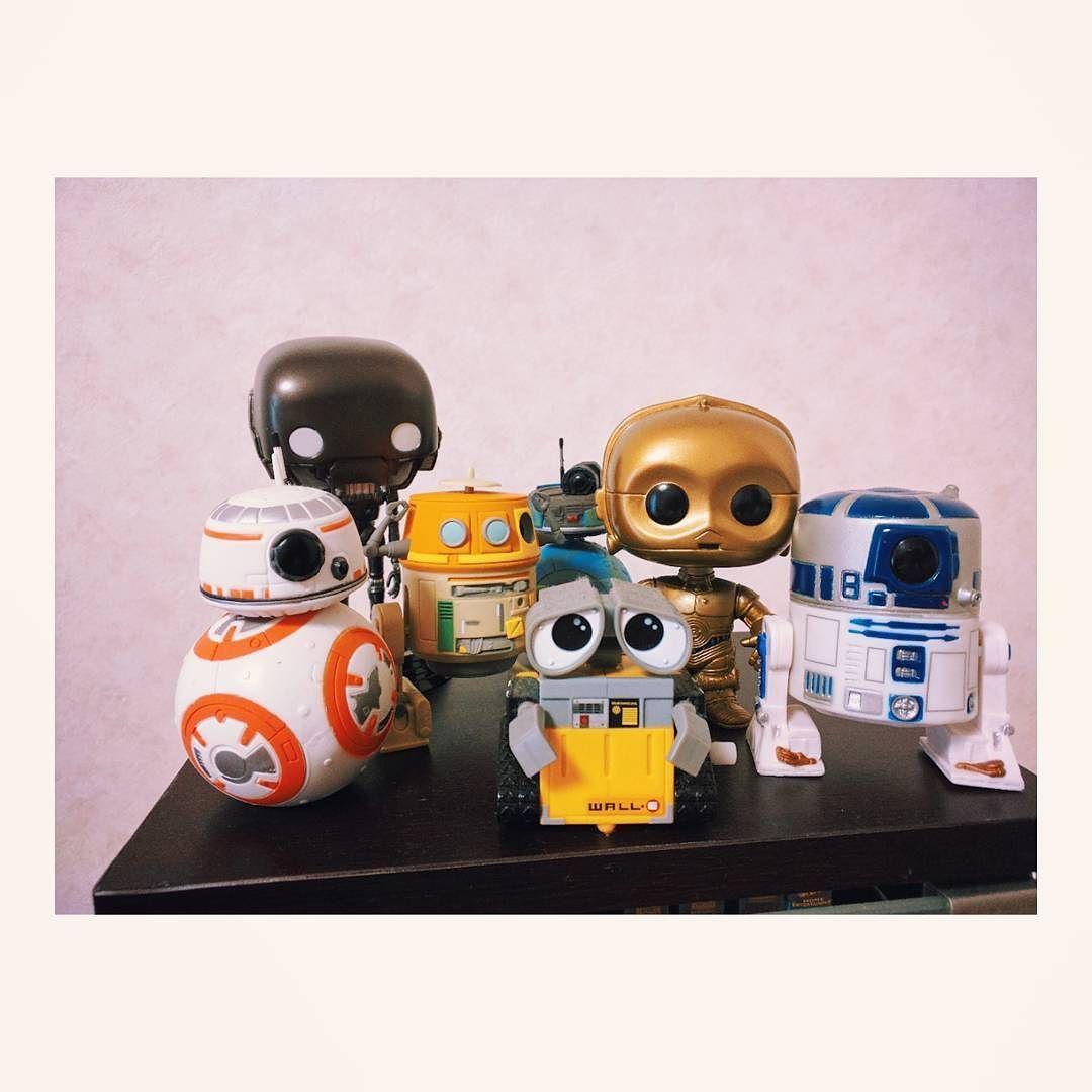 We Are Droids Starwars Pop Funko Funkopop Droids R2d2 C3po K2so Chopper C110p 2bb2 Bb8 Walle Star Wars Droids Funko Pop Star Wars