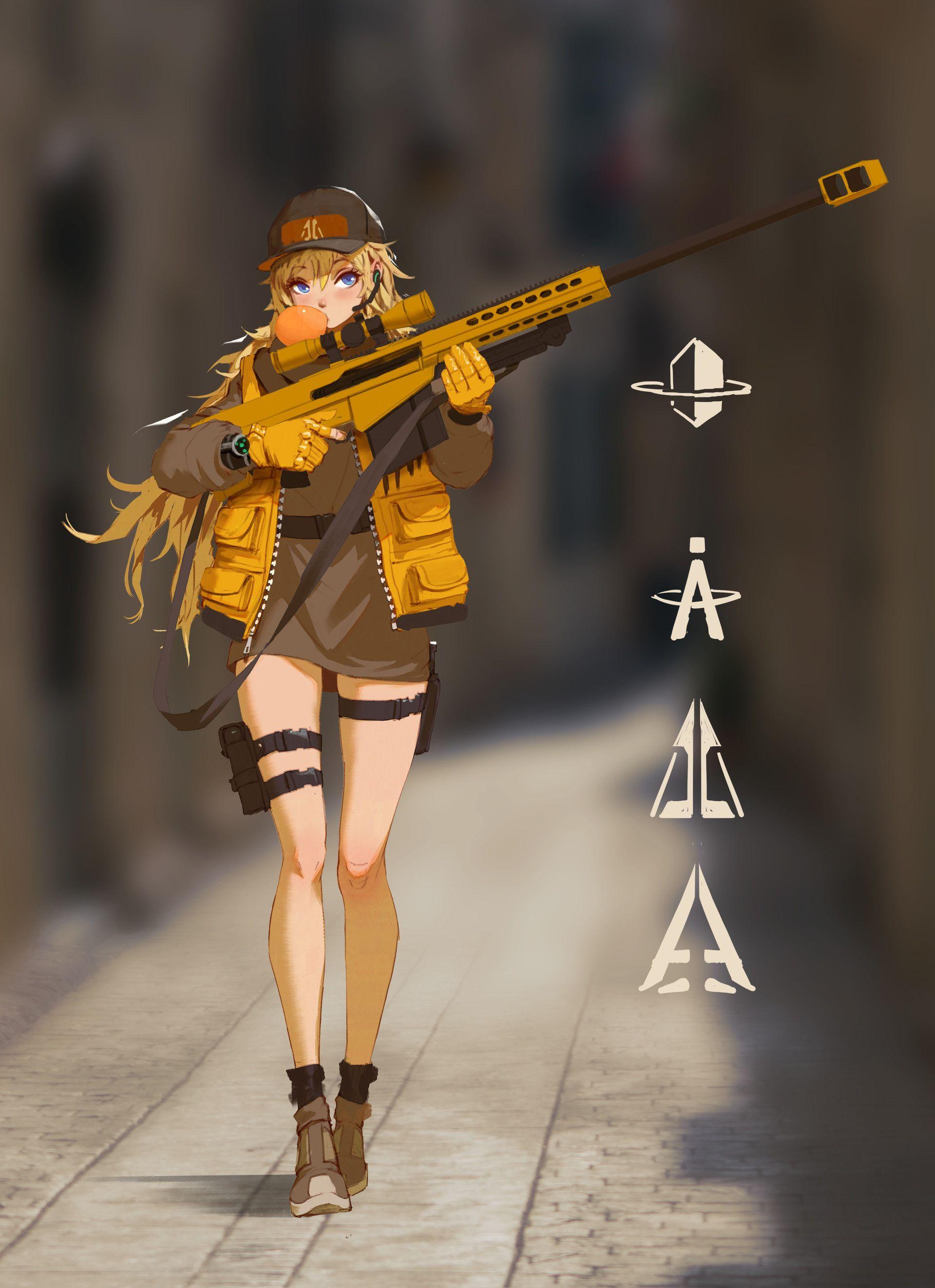 ArtStation - sniper-Elsa, Rui Li | charismatic characters