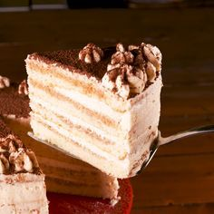 This Ultra-Light Tiramisu Cake Is For The Coffee L