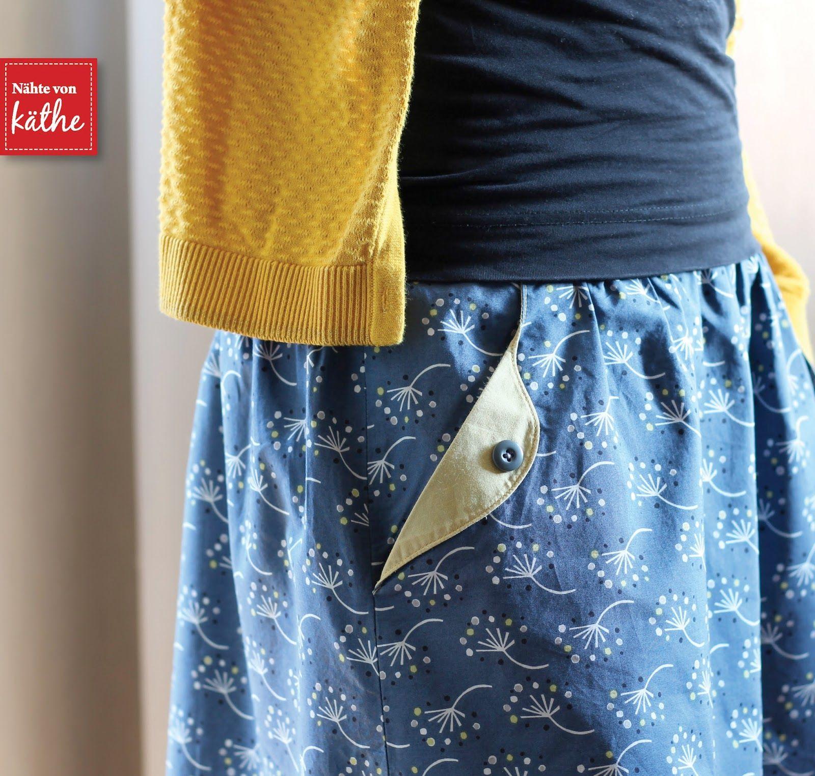 Rock Lotta Skirt von Compagnie M | Schnittmuster | Pinterest | Nähen ...