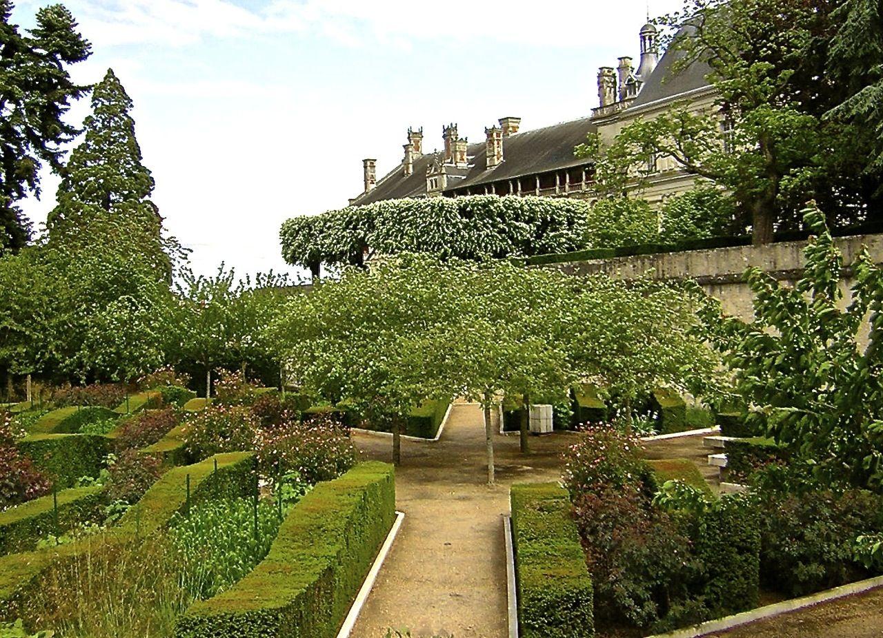 gilles clément paysagiste / jardin, château de blois
