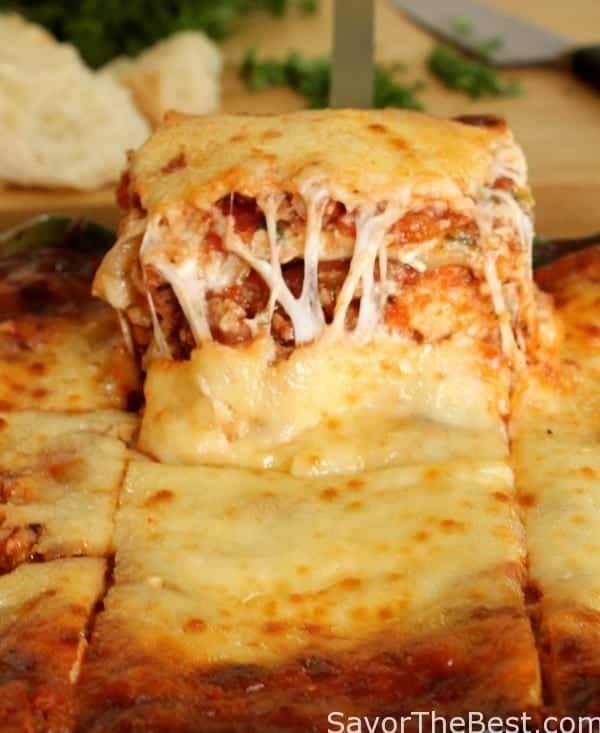 Beef And Sausage Lasagna Recipe With Images Sausage