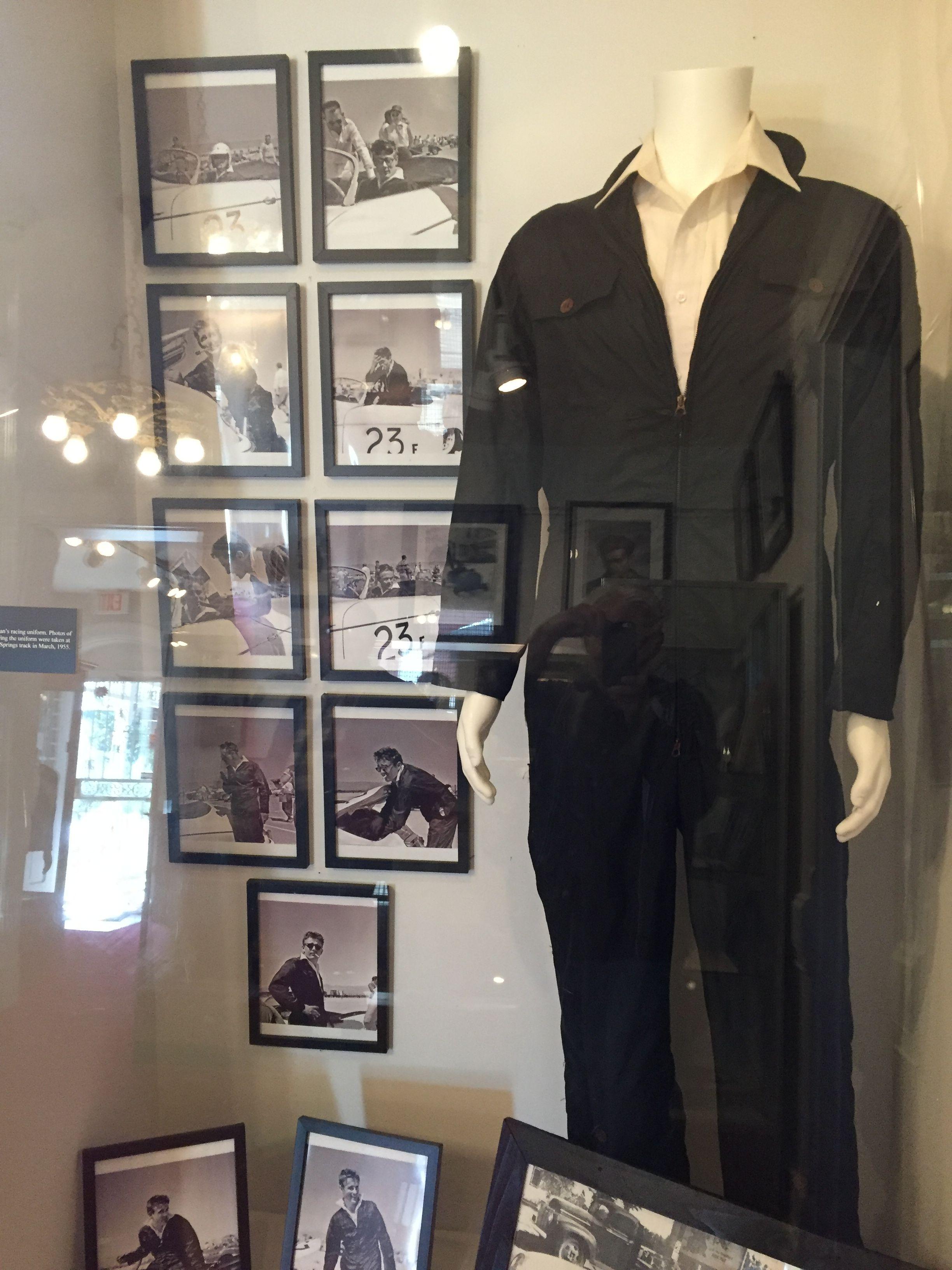 Jimmy's black racing suit.