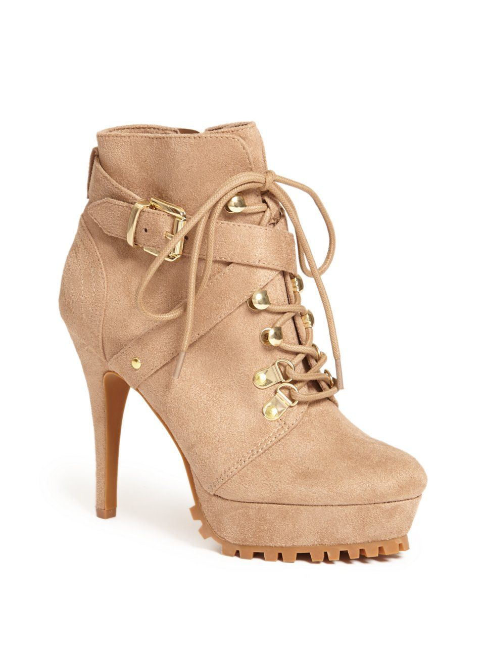 Women's Suede Pink Boots + FREE SHIPPING | Shoes |