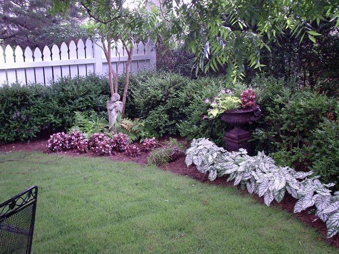 Landscaping Idea For Backyard Corner Rustic Landscaping Garden