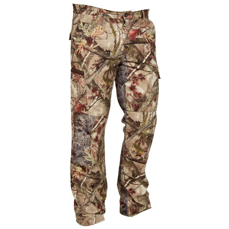Pantalon Chasse Respirant 100 Camouflage Foret Pantalon Chasse Pantalon Pantalon Leger