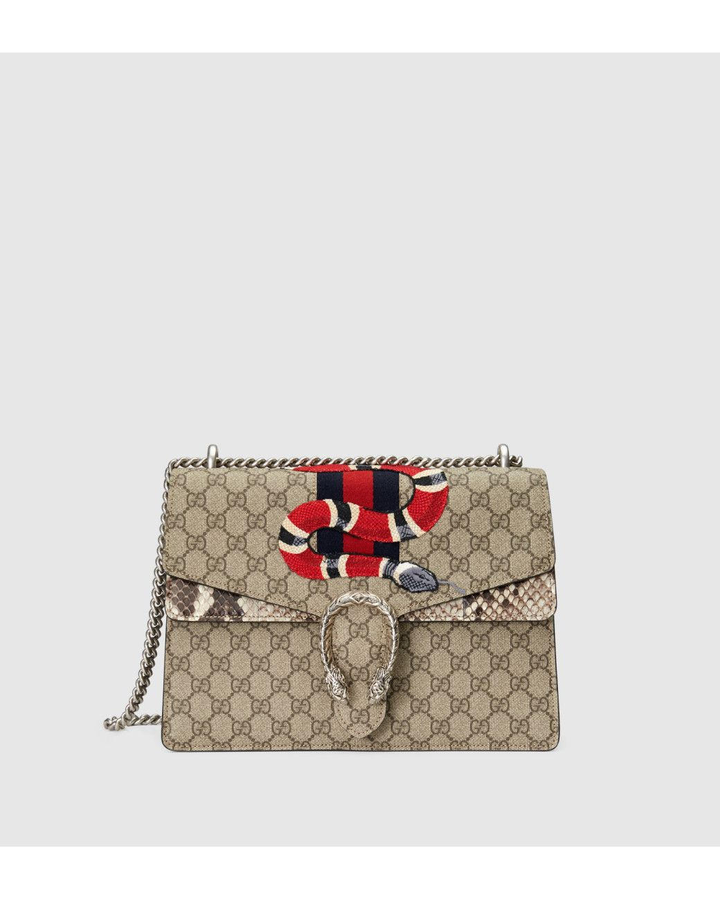 f0825bb37ef5 Gucci | Brown Dionysus Gg Supreme Embroidered Bag | Lyst | Bags: The ...