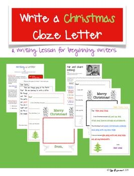 Write A Christmas Letter A Differentiated Lesson For Beginning