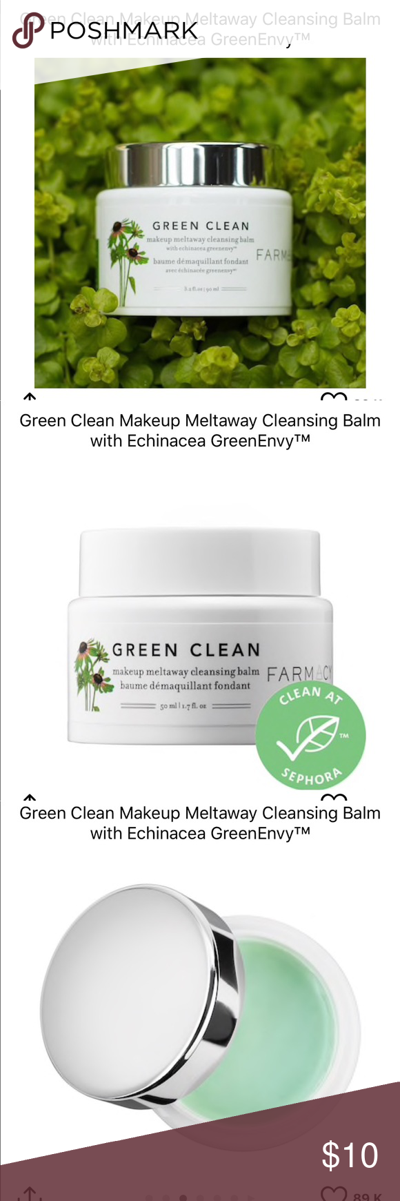 Farmacy Green Clean Makeup Meltaway Cleanser Clean