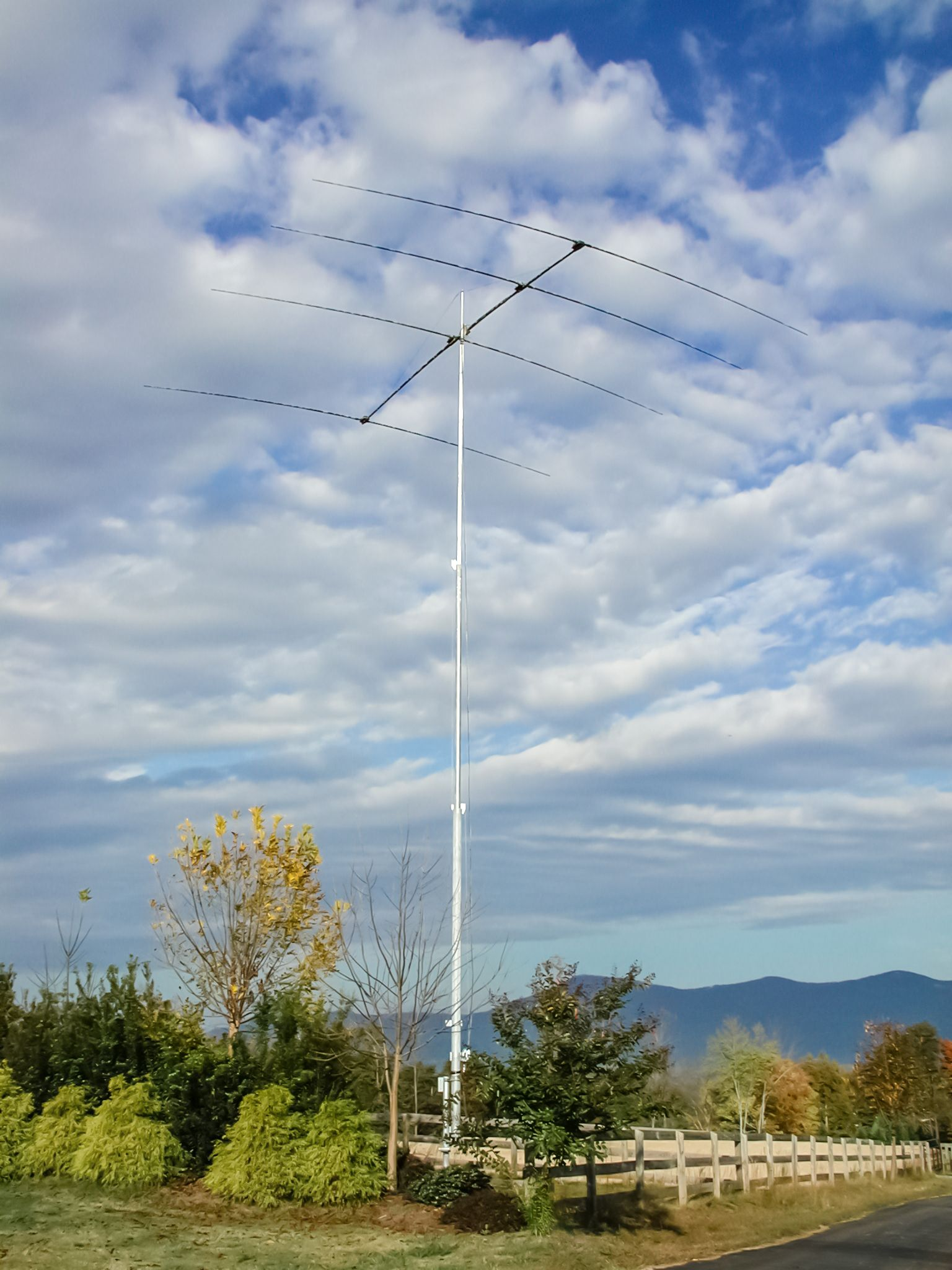 Us Tower Ma 550mdp Ham Radio Towers Tubular Style Tower Amateur Radio Ham Towers By Us Tower