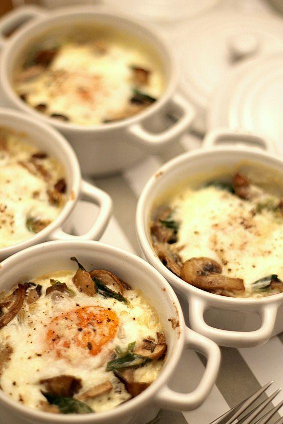 Huevos al horno con setas (Gordon Ramsay)   Eres increíble, Setas y ...