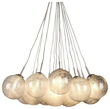 Orb 15-Light Pendant - modern - pendant lighting - Inmod  sc 1 st  Pinterest & Orb 15-Light Pendant - modern - pendant lighting - Inmod ... azcodes.com