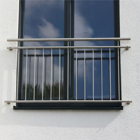 Französischer Balkon aus Edelstahl - direkt ab Werk, 213,25 €
