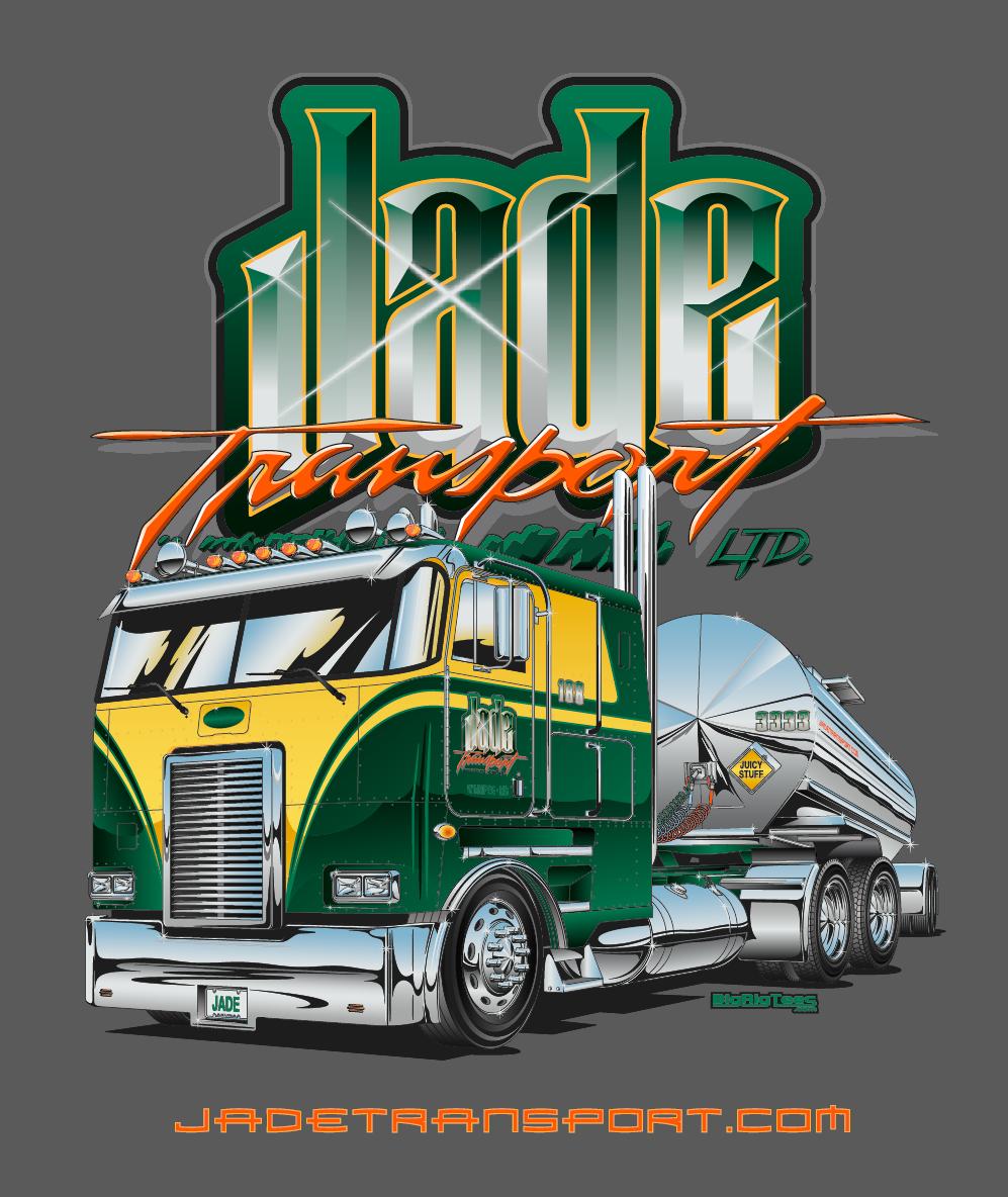 Jade Transport Terry Akuna's Trucking Industry Portfolio