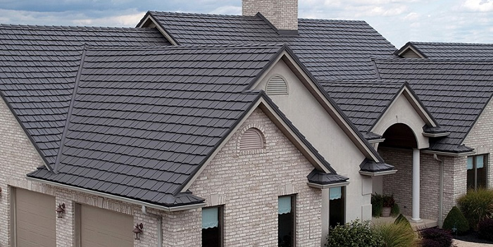 5 Types Of Metal Roofing With High Lifespan And Stability In 2020 Metal Shake Roof Metal Shingle Roof Metal Roof Leaks