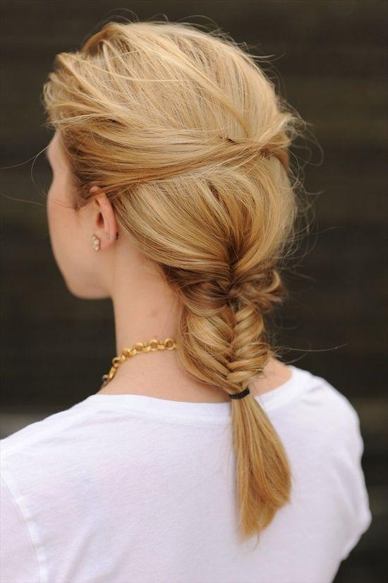 Fishtail Braid Hairstyle   Hair Hair Hair   Geflochtene ...
