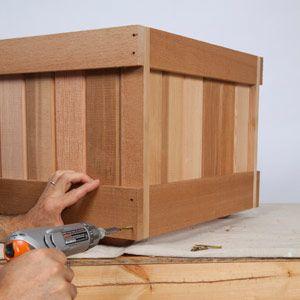 Gardens · Trellis Planter Woodworking ...