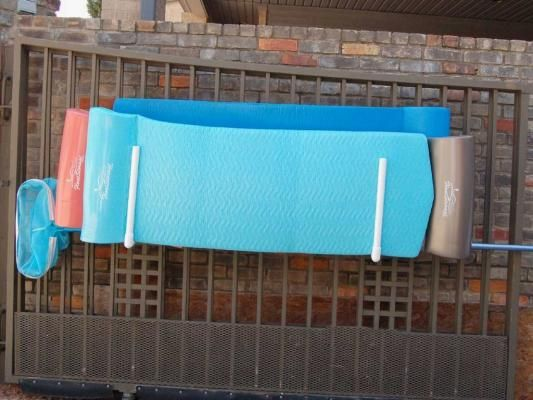 Pool Float Storage Ideas pool float storage ideas Pool Float Organizer Hanging Wall Fence Racks By Float Storage