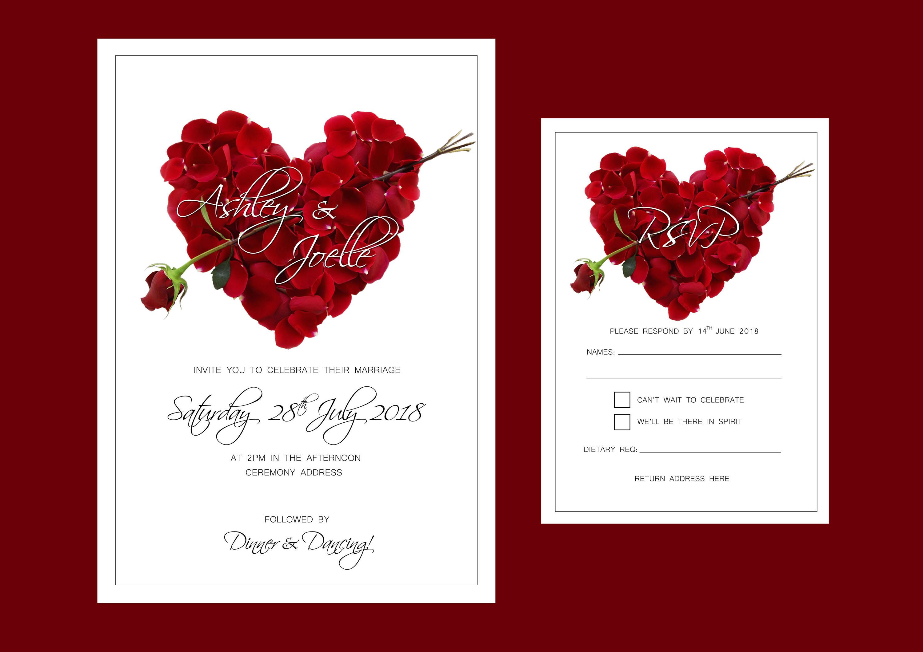 Enchanting Wedding Invitations Etiquette Addressing Festooning ...