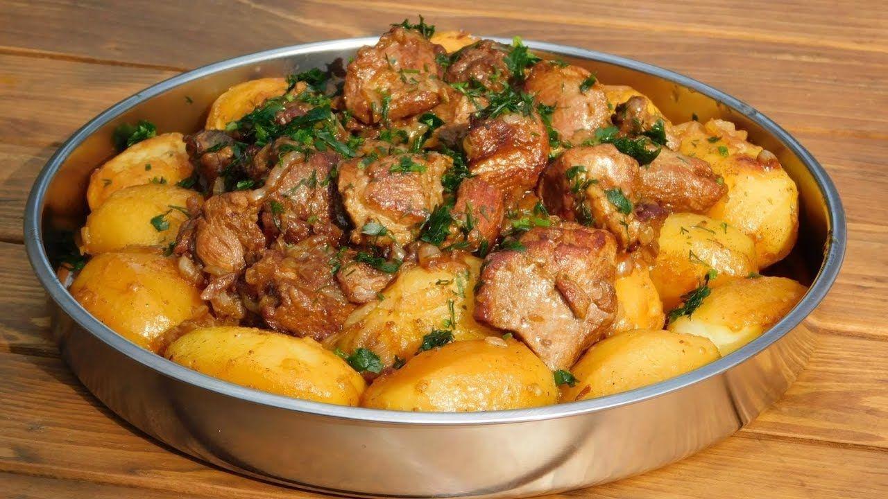 Блюда из свинины и картофеля фото вам